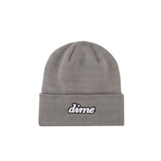 <img class='new_mark_img1' src='https://img.shop-pro.jp/img/new/icons1.gif' style='border:none;display:inline;margin:0px;padding:0px;width:auto;' />Dime<br>CURSIVE BEANIE<br>GRAY