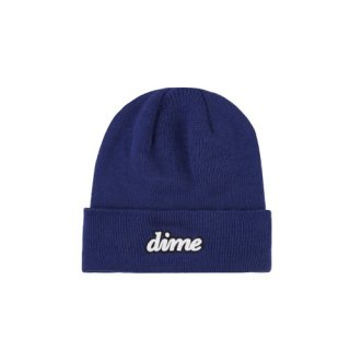 <img class='new_mark_img1' src='https://img.shop-pro.jp/img/new/icons1.gif' style='border:none;display:inline;margin:0px;padding:0px;width:auto;' />Dime<br>CURSIVE BEANIE<br>BLUE