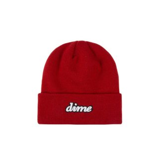 <img class='new_mark_img1' src='https://img.shop-pro.jp/img/new/icons1.gif' style='border:none;display:inline;margin:0px;padding:0px;width:auto;' />Dime<br>CURSIVE BEANIE<br>RED