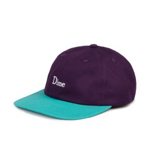 <img class='new_mark_img1' src='https://img.shop-pro.jp/img/new/icons1.gif' style='border:none;display:inline;margin:0px;padding:0px;width:auto;' />Dime<br>DIME CLASSIC 2-TONE HAT<br>PURPLE&TURQUOISE