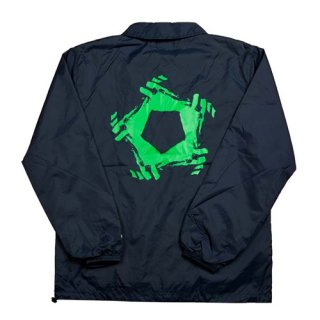 <img class='new_mark_img1' src='//img.shop-pro.jp/img/new/icons1.gif' style='border:none;display:inline;margin:0px;padding:0px;width:auto;' />GIMME FIVE<br>G5 COACH JACKET<br>NAVY/GREEN