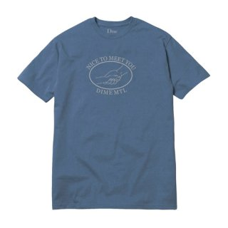 <img class='new_mark_img1' src='//img.shop-pro.jp/img/new/icons1.gif' style='border:none;display:inline;margin:0px;padding:0px;width:auto;' />Dime<br>GREETINGS T-SHIRT<br>STONE BLUE