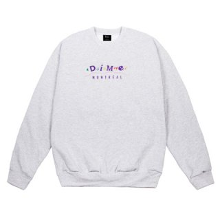 <img class='new_mark_img1' src='//img.shop-pro.jp/img/new/icons1.gif' style='border:none;display:inline;margin:0px;padding:0px;width:auto;' />Dime<br>DIME MONTREAL CREWNECK<br>ASH