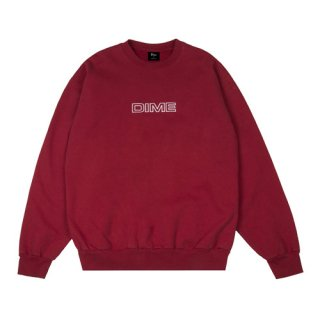<img class='new_mark_img1' src='//img.shop-pro.jp/img/new/icons1.gif' style='border:none;display:inline;margin:0px;padding:0px;width:auto;' />Dime<br>IMPORTANT CREWNECK<br>RED