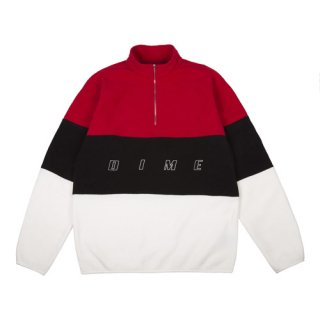 <img class='new_mark_img1' src='//img.shop-pro.jp/img/new/icons1.gif' style='border:none;display:inline;margin:0px;padding:0px;width:auto;' />Dime<br>3 TONE FLEECE PULLOVER<br>RED