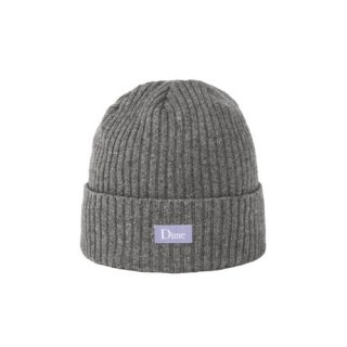 <img class='new_mark_img1' src='//img.shop-pro.jp/img/new/icons1.gif' style='border:none;display:inline;margin:0px;padding:0px;width:auto;' />Dime<br>RIBBED CASHMERE BEANIE<br>GREY