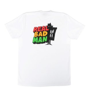 <img class='new_mark_img1' src='//img.shop-pro.jp/img/new/icons1.gif' style='border:none;display:inline;margin:0px;padding:0px;width:auto;' />REAL BAD MAN<br>REAL BAD LOGO TEE VOLUME 2<br>WHITE