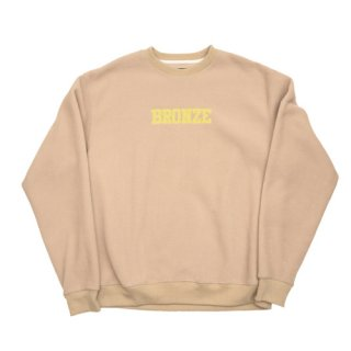 <img class='new_mark_img1' src='https://img.shop-pro.jp/img/new/icons1.gif' style='border:none;display:inline;margin:0px;padding:0px;width:auto;' />Bronze 56K<br>BRONZE FLEECE CREWNECK<br>SAND