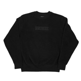 <img class='new_mark_img1' src='https://img.shop-pro.jp/img/new/icons1.gif' style='border:none;display:inline;margin:0px;padding:0px;width:auto;' />Bronze 56K<br>BRONZE FLEECE CREWNECK<br>BLACK