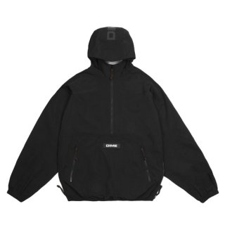 <img class='new_mark_img1' src='https://img.shop-pro.jp/img/new/icons1.gif' style='border:none;display:inline;margin:0px;padding:0px;width:auto;' />Dime<br>PULLOVER HOODED SHELL<br>BLACK