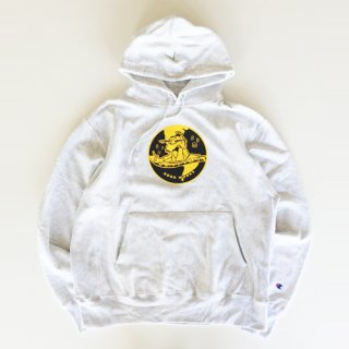 <img class='new_mark_img1' src='https://img.shop-pro.jp/img/new/icons1.gif' style='border:none;display:inline;margin:0px;padding:0px;width:auto;' />BOOK WORKS<br>Globe Emblem Hoody<br>ASH