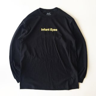 <img class='new_mark_img1' src='https://img.shop-pro.jp/img/new/icons1.gif' style='border:none;display:inline;margin:0px;padding:0px;width:auto;' />BOOK WORKS<br>Infant Eyes Long Sleeve Tee<br>BLACK