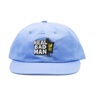 <img class='new_mark_img1' src='https://img.shop-pro.jp/img/new/icons1.gif' style='border:none;display:inline;margin:0px;padding:0px;width:auto;' />REAL BAD MAN<br>RBM SWAP MEET HAT<br>BLUE