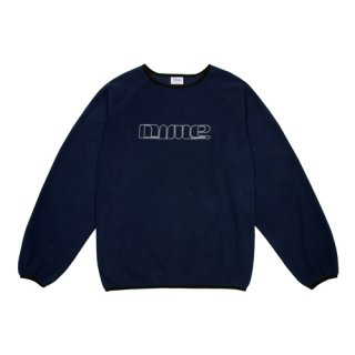 <img class='new_mark_img1' src='https://img.shop-pro.jp/img/new/icons1.gif' style='border:none;display:inline;margin:0px;padding:0px;width:auto;' />Dime<br>RAGLAN POLAR FLEECE CREWNECK<br>NAVY