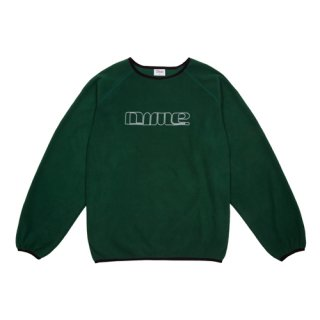 <img class='new_mark_img1' src='https://img.shop-pro.jp/img/new/icons1.gif' style='border:none;display:inline;margin:0px;padding:0px;width:auto;' />Dime<br>RAGLAN POLAR FLEECE CREWNECK<br>FOREST GREEN