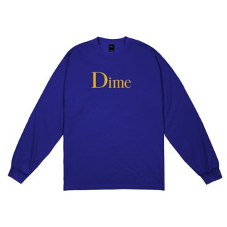 <img class='new_mark_img1' src='https://img.shop-pro.jp/img/new/icons1.gif' style='border:none;display:inline;margin:0px;padding:0px;width:auto;' />Dime<br>CLASSIC LOGO L/S T-SHIRT<br>ROYAL