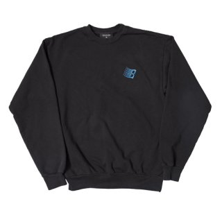 <img class='new_mark_img1' src='https://img.shop-pro.jp/img/new/icons1.gif' style='border:none;display:inline;margin:0px;padding:0px;width:auto;' />Bronze 56K<br>EMBROIDERED B LOGO CREWNECK<br>BLACK