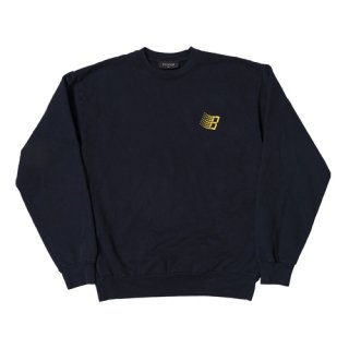 <img class='new_mark_img1' src='https://img.shop-pro.jp/img/new/icons1.gif' style='border:none;display:inline;margin:0px;padding:0px;width:auto;' />Bronze 56K<br>EMBROIDERED B LOGO CREWNECK<br>NAVY