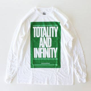 <img class='new_mark_img1' src='https://img.shop-pro.jp/img/new/icons1.gif' style='border:none;display:inline;margin:0px;padding:0px;width:auto;' />BOOK WORKS<br>Totality and Infinity Long Sleeve Tee<br>WHITE