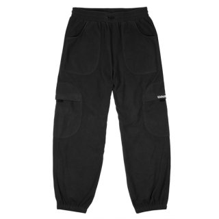 <img class='new_mark_img1' src='https://img.shop-pro.jp/img/new/icons1.gif' style='border:none;display:inline;margin:0px;padding:0px;width:auto;' />Dime<br>FLEECE ROUND CARGO PANTS<br>BLACK