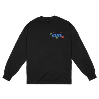 <img class='new_mark_img1' src='https://img.shop-pro.jp/img/new/icons1.gif' style='border:none;display:inline;margin:0px;padding:0px;width:auto;' />Dime<br>BREAKER LONGSLEEVE T-SHIRT<br>BLACK
