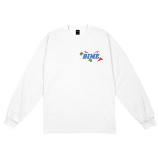 <img class='new_mark_img1' src='https://img.shop-pro.jp/img/new/icons1.gif' style='border:none;display:inline;margin:0px;padding:0px;width:auto;' />Dime<br>BREAKER LONGSLEEVE T-SHIRT<br>WHITE