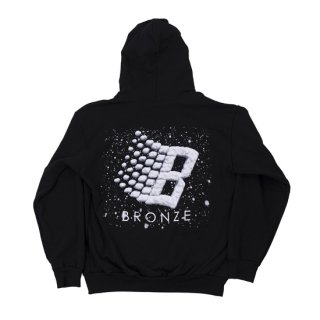 <img class='new_mark_img1' src='https://img.shop-pro.jp/img/new/icons1.gif' style='border:none;display:inline;margin:0px;padding:0px;width:auto;' />Bronze 56K<br>LOGO SNOW HOODY<br>BLACK