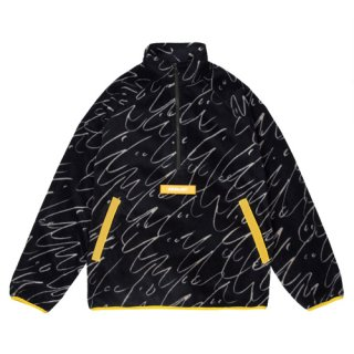 <img class='new_mark_img1' src='https://img.shop-pro.jp/img/new/icons1.gif' style='border:none;display:inline;margin:0px;padding:0px;width:auto;' />Dime<br>FACES QUARTER ZIP FLEECE<br>BLACK