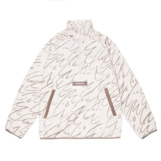 <img class='new_mark_img1' src='https://img.shop-pro.jp/img/new/icons1.gif' style='border:none;display:inline;margin:0px;padding:0px;width:auto;' />Dime<br>FACES QUARTER ZIP FLEECE<br>CREAM