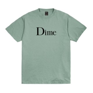 <img class='new_mark_img1' src='https://img.shop-pro.jp/img/new/icons1.gif' style='border:none;display:inline;margin:0px;padding:0px;width:auto;' />Dime<br>DIME CLASSIC LOGO T-SHIRT<br>ATLANTIC GREEN
