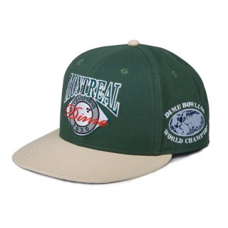<img class='new_mark_img1' src='https://img.shop-pro.jp/img/new/icons1.gif' style='border:none;display:inline;margin:0px;padding:0px;width:auto;' />Dime<br>MONTREAL CHAMPION HAT<br>GREEN
