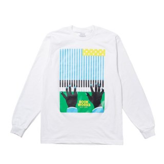 <img class='new_mark_img1' src='https://img.shop-pro.jp/img/new/icons1.gif' style='border:none;display:inline;margin:0px;padding:0px;width:auto;' />BOOK WORKS<br>Flag Long Sleeve Tee<br>WHITE