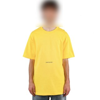 <img class='new_mark_img1' src='https://img.shop-pro.jp/img/new/icons1.gif' style='border:none;display:inline;margin:0px;padding:0px;width:auto;' />SAINTWOODS<br>CLASSIC LOGO TEE<br>YELLOW