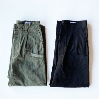 <img class='new_mark_img1' src='https://img.shop-pro.jp/img/new/icons1.gif' style='border:none;display:inline;margin:0px;padding:0px;width:auto;' />DAN<br>ダン<br>Transport Trousers<br>運パン<br>OLIVE,BLACK