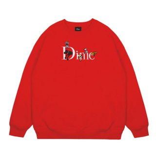 <img class='new_mark_img1' src='https://img.shop-pro.jp/img/new/icons1.gif' style='border:none;display:inline;margin:0px;padding:0px;width:auto;' />Dime<br>DOG CLASSIC LOGO CREWNECK<br>RED