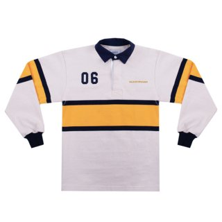 <img class='new_mark_img1' src='https://img.shop-pro.jp/img/new/icons1.gif' style='border:none;display:inline;margin:0px;padding:0px;width:auto;' />SAINTWOODS<br>SW RUGBY SHIRT<br>IVORY
