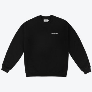 <img class='new_mark_img1' src='https://img.shop-pro.jp/img/new/icons1.gif' style='border:none;display:inline;margin:0px;padding:0px;width:auto;' />SAINTWOODS<br>SAINTWOODS LOGO SWEAT SHIRT<br>BLACK