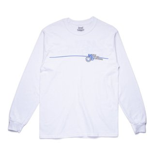 <img class='new_mark_img1' src='https://img.shop-pro.jp/img/new/icons1.gif' style='border:none;display:inline;margin:0px;padding:0px;width:auto;' />BOOK WORKS<br>MPB Long Sleeve Tee<br>WHITE