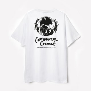 <img class='new_mark_img1' src='https://img.shop-pro.jp/img/new/icons1.gif' style='border:none;display:inline;margin:0px;padding:0px;width:auto;' />PUBLIC POSSESSION<br>Continental Connect T-Shirt<br>WHITE