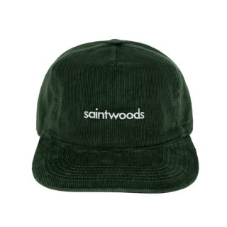 <img class='new_mark_img1' src='https://img.shop-pro.jp/img/new/icons1.gif' style='border:none;display:inline;margin:0px;padding:0px;width:auto;' />SAINTWOODS<br>CORDUROY LOGO HAT<br>GREEN