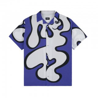 <img class='new_mark_img1' src='https://img.shop-pro.jp/img/new/icons1.gif' style='border:none;display:inline;margin:0px;padding:0px;width:auto;' />Dime<br>CHILLING RAYON SHIRT<br>BLUE