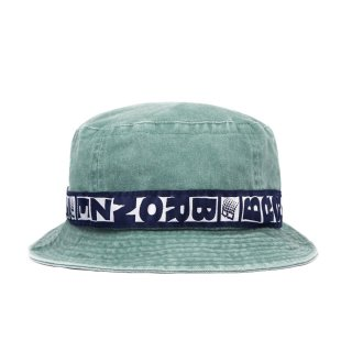 <img class='new_mark_img1' src='https://img.shop-pro.jp/img/new/icons1.gif' style='border:none;display:inline;margin:0px;padding:0px;width:auto;' />Bronze 56K<br>BUCKET HAT<br>WASHED GREEN