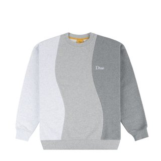 <img class='new_mark_img1' src='https://img.shop-pro.jp/img/new/icons1.gif' style='border:none;display:inline;margin:0px;padding:0px;width:auto;' />Dime<br>WAVY 3-TONE CREWNECK<br>HEATHER