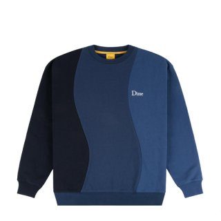 <img class='new_mark_img1' src='https://img.shop-pro.jp/img/new/icons1.gif' style='border:none;display:inline;margin:0px;padding:0px;width:auto;' />Dime<br>WAVY 3-TONE CREWNECK<br>NAVY