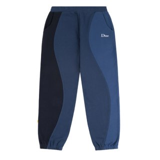 <img class='new_mark_img1' src='https://img.shop-pro.jp/img/new/icons1.gif' style='border:none;display:inline;margin:0px;padding:0px;width:auto;' />Dime<br>WAVY 3-TONE SWEATPANTS<br>NAVY