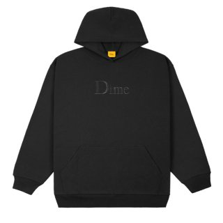 <img class='new_mark_img1' src='https://img.shop-pro.jp/img/new/icons1.gif' style='border:none;display:inline;margin:0px;padding:0px;width:auto;' />Dime<br>CLASSIC EMBROIDERED HOODIE<br>BLACK