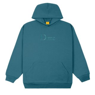 <img class='new_mark_img1' src='https://img.shop-pro.jp/img/new/icons1.gif' style='border:none;display:inline;margin:0px;padding:0px;width:auto;' />Dime<br>CLASSIC EMBROIDERED HOODIE<br>REAL TEAL