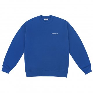 <img class='new_mark_img1' src='https://img.shop-pro.jp/img/new/icons1.gif' style='border:none;display:inline;margin:0px;padding:0px;width:auto;' />SAINTWOODS<br>LOGO SWEAT SHIRT<br>BLUE