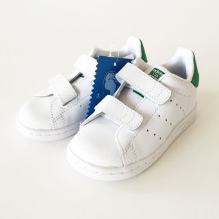 <img class='new_mark_img1' src='//img.shop-pro.jp/img/new/icons47.gif' style='border:none;display:inline;margin:0px;padding:0px;width:auto;' />ADIDAS<br>STAN SMITH CF � (KIDS)<br>スタンスミス キッズ<br>ホワイト/グリーン