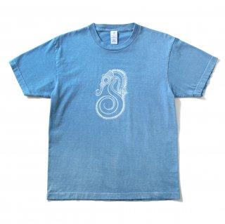 Original T-shirts タツノオトシゴ (Light Blue)